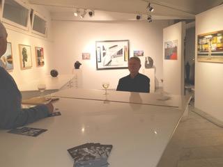 Hanno Rink, Ausstellung in der Galerie Kühn, Lilienthal/Bremen, März-Mai 2017