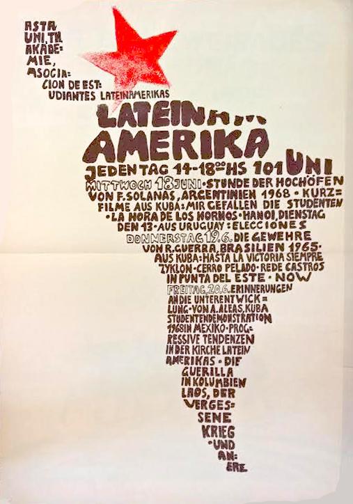 Lateinamerika Veranstaltung | 1968