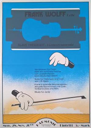Musikerveranstaltung für Frank Wolf | Frankfurt | 1975