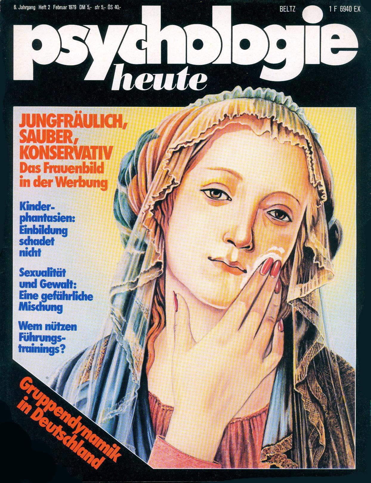Psychologie heute (mit Rita Mühlbauer) © Hanno Rink