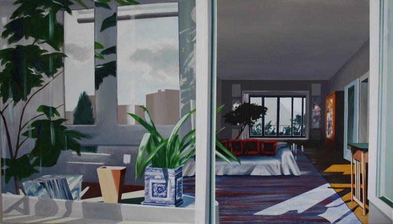 Zimmer mit Wintergarten, 180grad | 2006 © Hanno Rink