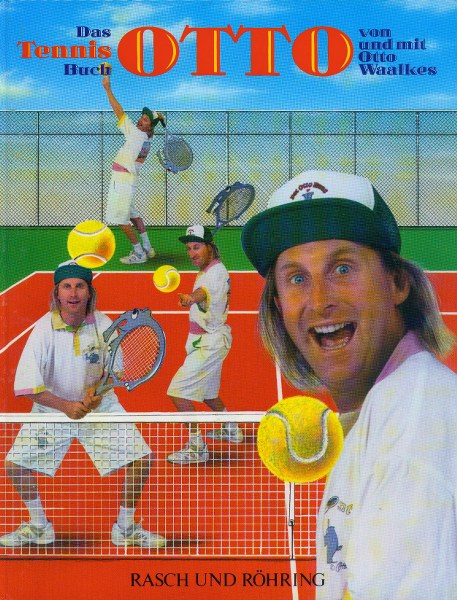 Das Tennisbuch Otto, Gestalter und Mitherausgeber, 1992 © Hanno Rink