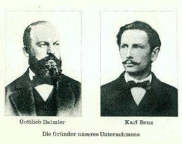 Daimler und Benz © Hanno Rink